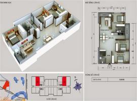 19 tầng 15-Chung cư Kim Văn Kim Lũ - Tầng: 15