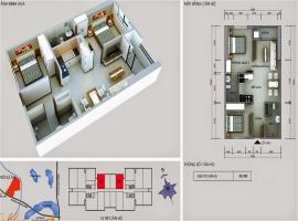 17 tầng 15-Chung cư Kim Văn Kim Lũ - Tầng: 15