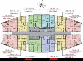 Sơ đồ mặt bằng Ct9 căn hộ tầng 6 -33