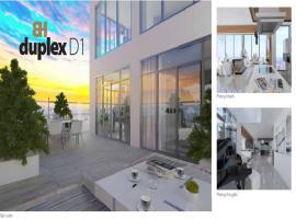 Căn hộ penthouses-duplex D1 dự án Bảy hiền tower