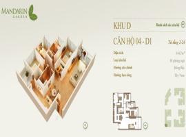 04-D1 Chung cư Mandarin Garden - Tầng: 10