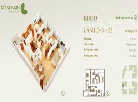 07-D2 Chung cư Mandarin Garden - Tầng: 10