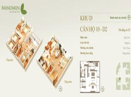 10-D2 Chung cư Mandarin Garden - Tầng: 10