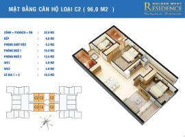 CH-B4 tầng 18-Chung cư Golden West - Tầng: 18