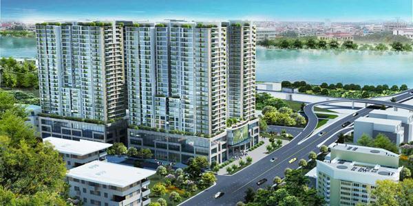 Phối cảnh dự án Hòa Bình Green City