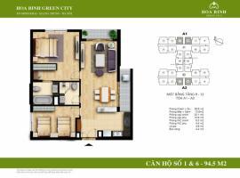 A1-1 - Tòa A Chung cư Hòa Bình Green City