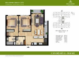 A1-11 - Tòa A Chung cư Hòa Bình Green City