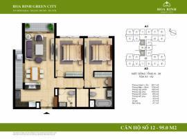 A2-12 - Tòa A Chung cư Hòa Bình Green City