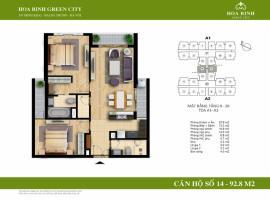 A2-14 - Tòa A Chung cư Hòa Bình Green City