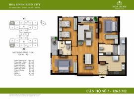 A1-3 - Tòa A Chung cư Hòa Bình Green City