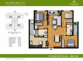 A2-10 - Tòa A Chung cư Hòa Bình Green City