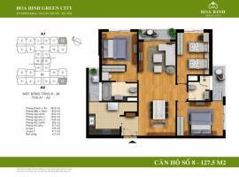 A1-8 - Tòa A Chung cư Hòa Bình Green City