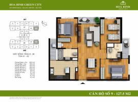 A1-9 Chung cư Hòa Bình Green City - Tầng: 10