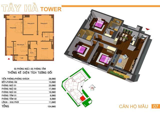 07 tầng 11-Tây Hà Tower