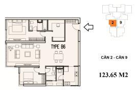 B6A-2 Chung cư Mulberry Lane - Tầng: 10