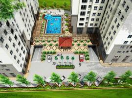 Khu trung tâm căn hộ Topaz city