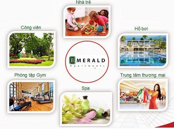 Tiện ích nội khu dự án Emerald