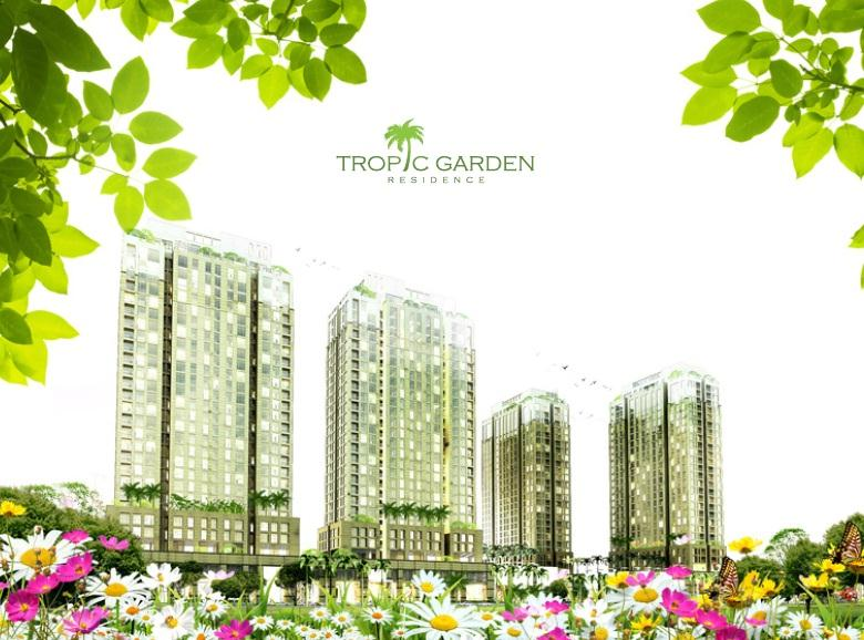 Phối cảnh dự án Tropic Garden