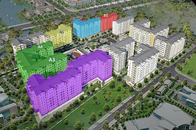 Phối cảnh dự án căn hộ EHome 3