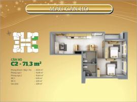 C2-07 Căn hộ Tân Hương Tower - Tầng: 10