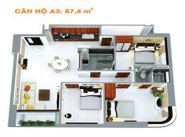 A3-4 tầng 5-Căn hộ Âu Cơ Tower - Tầng: 5