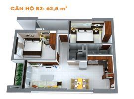B2-2 tầng 15-Căn hộ Âu Cơ Tower - Tầng: 15