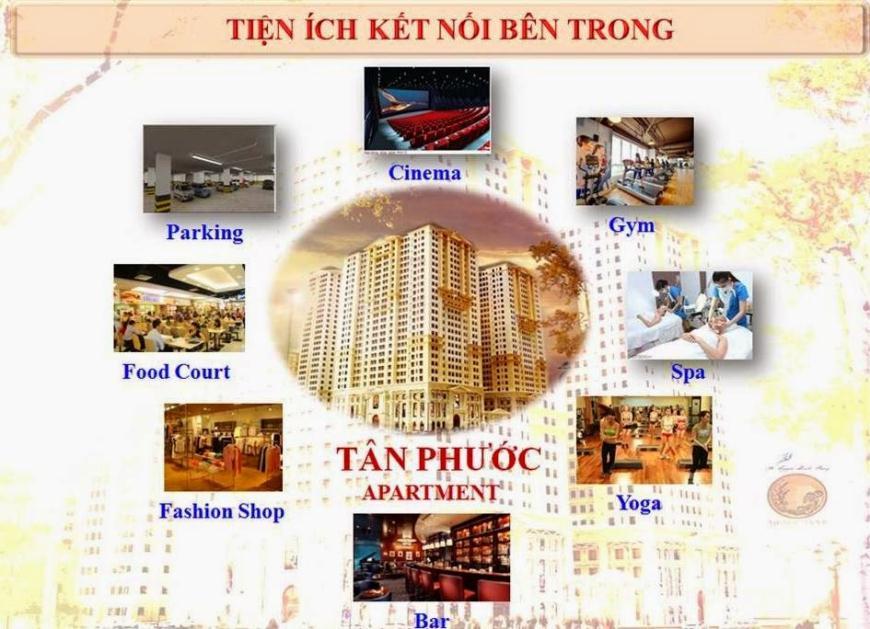 Tiện ích nội khu căn hộ Tân Phước