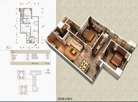 Bán căn 10 Tòa V1 tầng 12-Home City 177 Trung Kính - Tầng: 12
