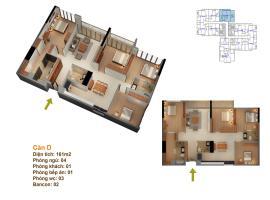 abc07 Tòa 101 tầng 2-Chung cư Goldmark City - Tầng: 2
