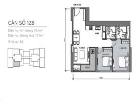 12B tầng 48-VinHomes Central Park - Tầng: 48