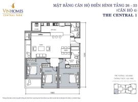 CH 04 VinHomes Central Park - Tầng: 10
