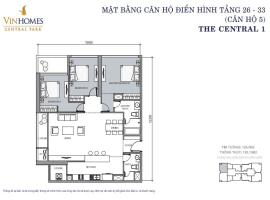 CH 05 VinHomes Central Park - Tầng: 10
