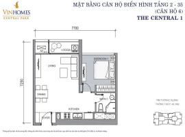 800$CH 06 Tòa C1 - Tầng 23 tầng 12-VinHomes Central Park