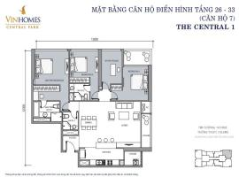 CH 07 VinHomes Central Park - Tầng: 10