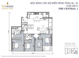 CH 08 VinHomes Central Park - Tầng: 10
