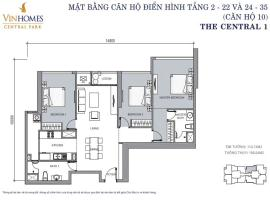 CH 10 VinHomes Central Park - Tầng: 10