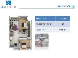 Căn hộ B4 Block B Căn hộ Sky Center - Tầng: 10