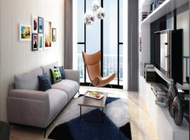 Phối cảnh phòng khách căn hộ