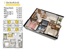 B3 Block B tầng 6-Lotus Apartment Thủ Đức - Tầng: 6