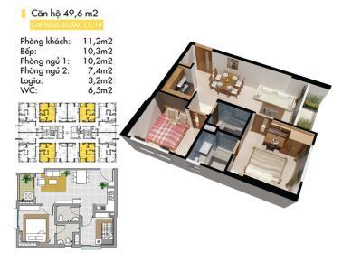 B10 Block B tầng 6-Lotus Apartment Thủ Đức - Tầng: 6