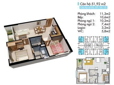 B9 Block B tầng 6-Lotus Apartment Thủ Đức - Tầng: 6