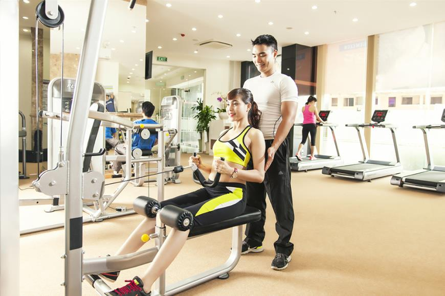 Phòng tập Gym dự án Tràng An Complex