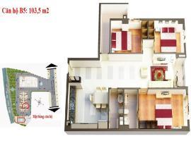 B5 Căn hộ Homyland2 - Tầng: 10