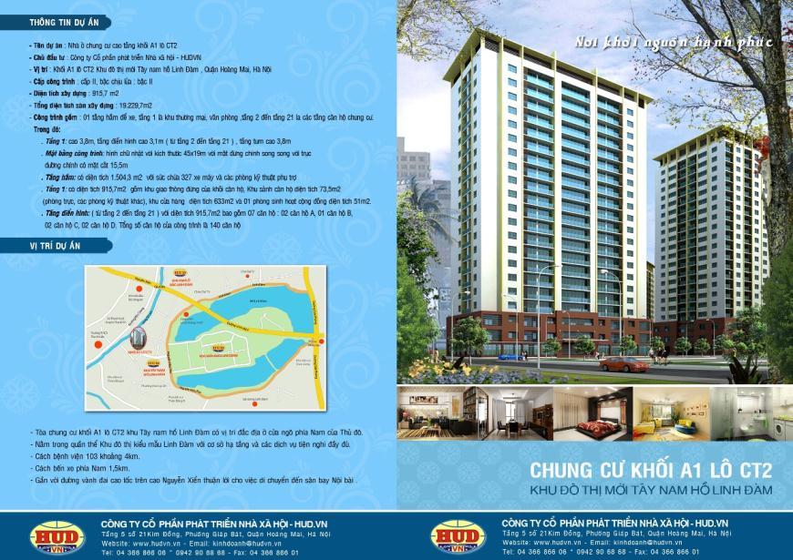 Giới thiệu dự án CT2A1 Tây Nam Linh Đàm