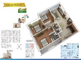 Căn hộ 82 m2