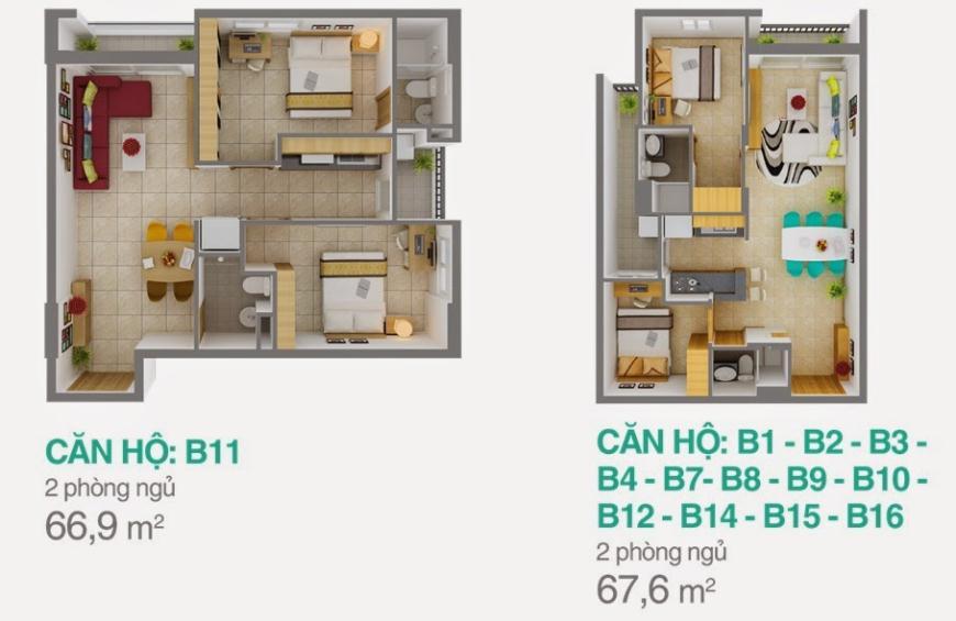 Block B-B8 Căn hộ Melody Residence