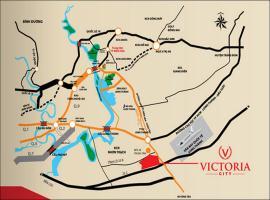 Vị trí dự án Victory City