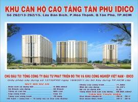 Khu căn hộ cao tầng IDICO Quận Tân Phú, TP Hồ Chí Minh
