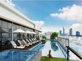 Khu Hồ Bơi Tràn Cao Cấp Theo chuẩn Singapore nằm ở