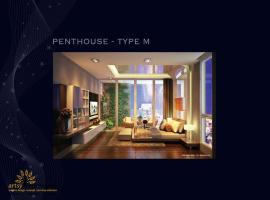 Phòng khách PENTHOUSE - TYPE M